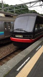 地元の電車