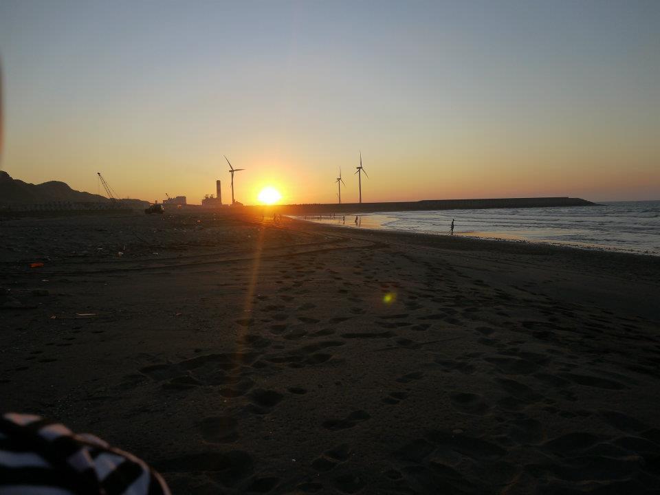 午後的夕陽
