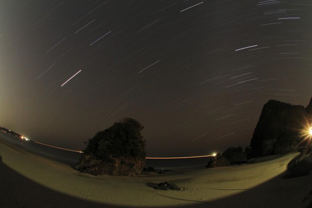 大浜の夜景